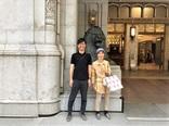 日本橋三越と母