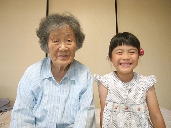 おおばあばとひ孫
