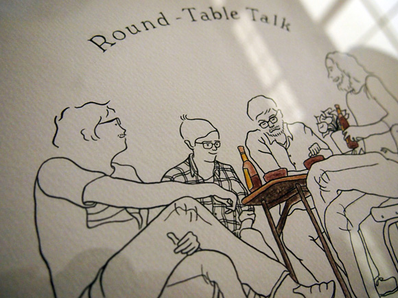 round-table talk