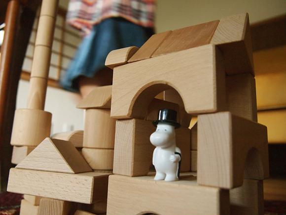 積み木の家&齋藤薫さんのコラム