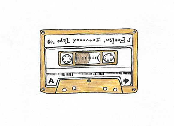 3年前のカセットテープ