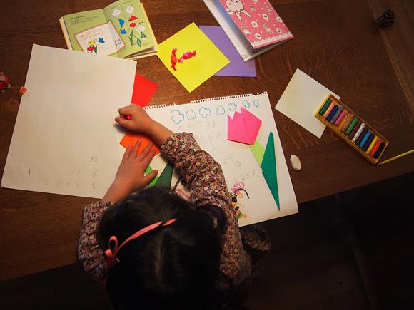 折り紙レター