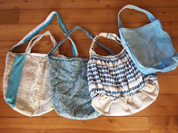 青い布バッグの法則