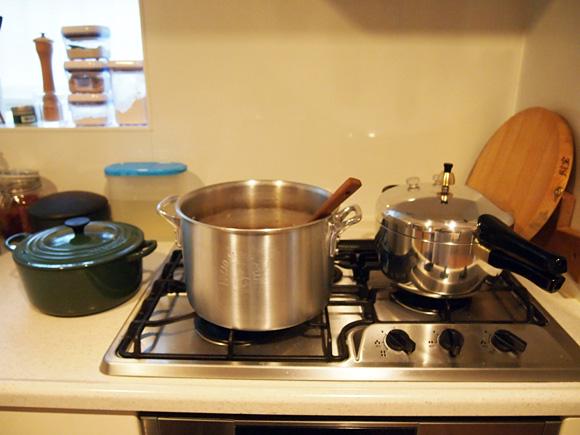 週末の台所仕事