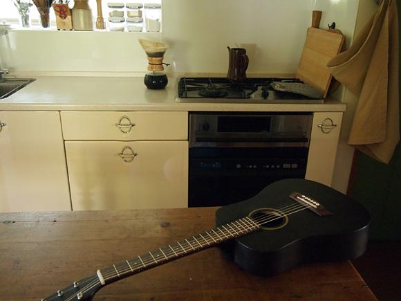 コーヒーとギター練習