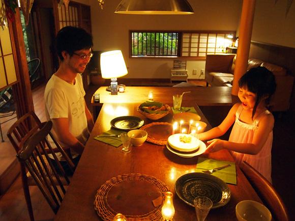 パパの誕生日・ケーキ編