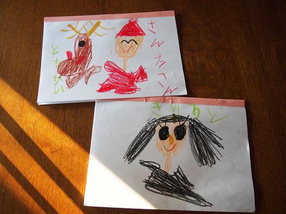 聖誕劇とクリスマスの絵
