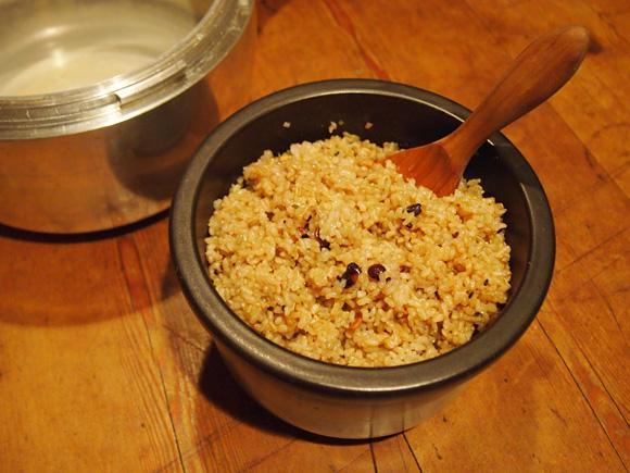 玄米と「いつもの」