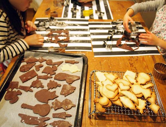 クリスマスクッキーづくり