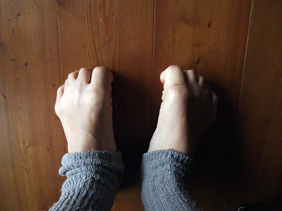 足指の筋トレ