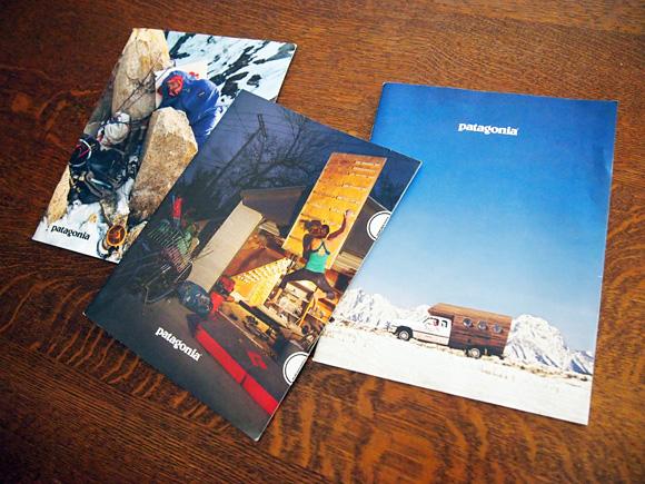 patagoniaのカタログ