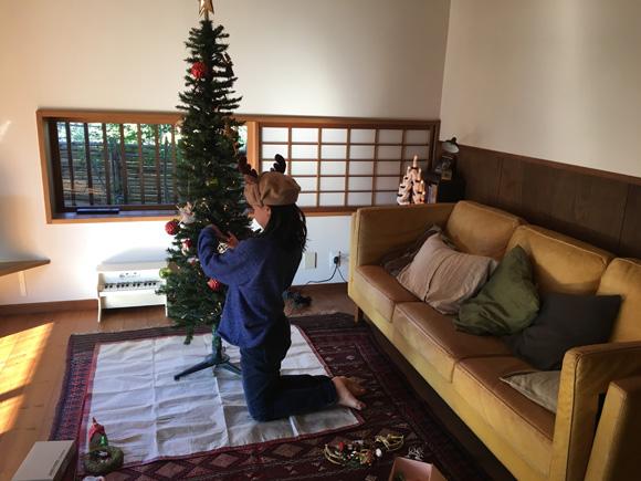 今年のツリー係