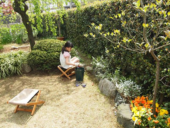 春の庭仕事 1