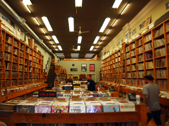 Record Shop in Seattle その1