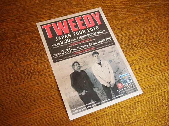 Tweedy Japan Tour 2016