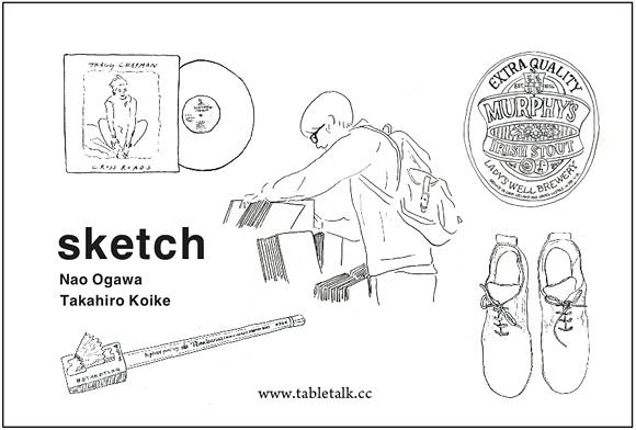 『sketch』出版記念イラスト展@メリーゴーランド京都