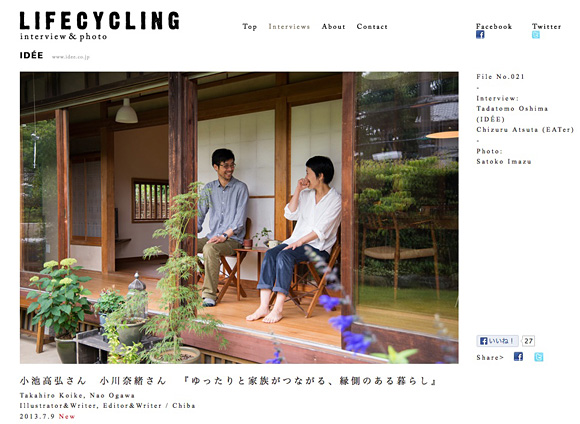 IDEE LIFE CYCLING vol.21