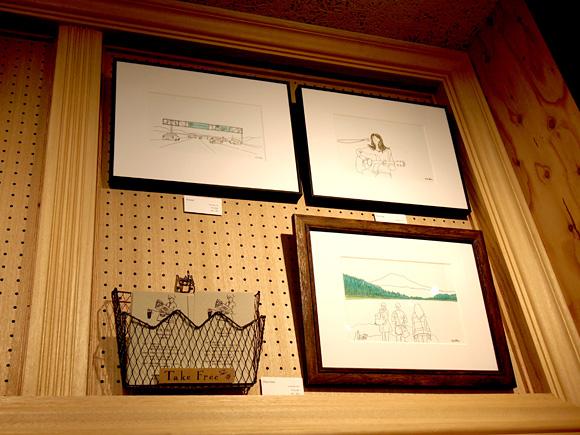 渋谷と原宿でイラストの原画展がスタートしています!