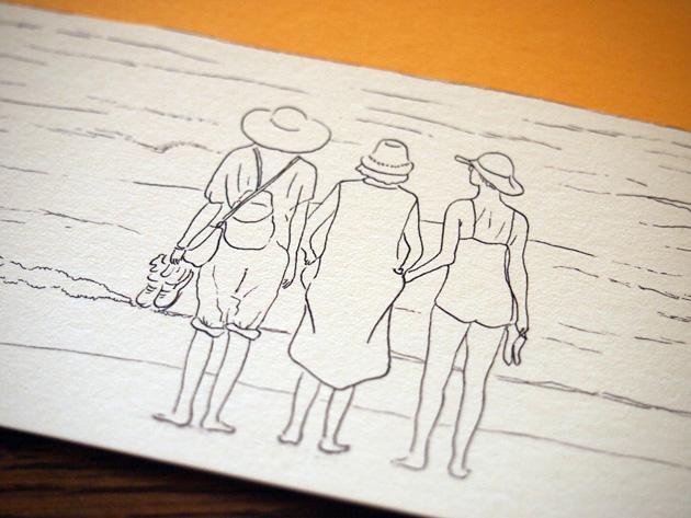 three ladies【yellow】