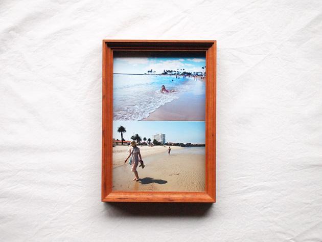 ウッドフレーム [postcard] (チェリー)