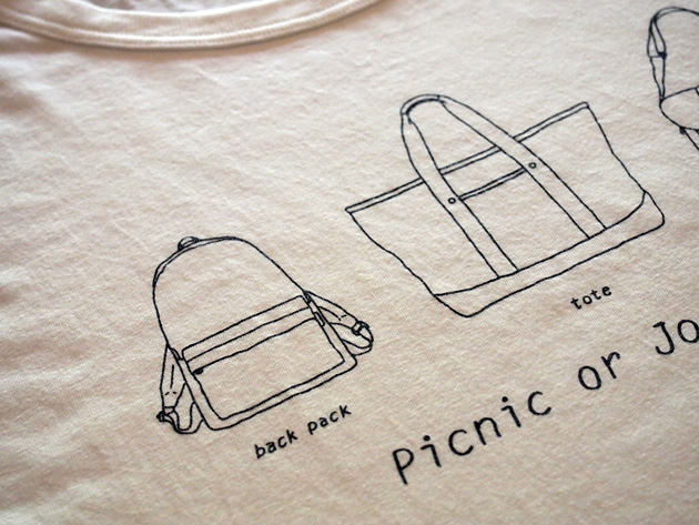 T-Shirts 002 [Picnic or Journey ?]